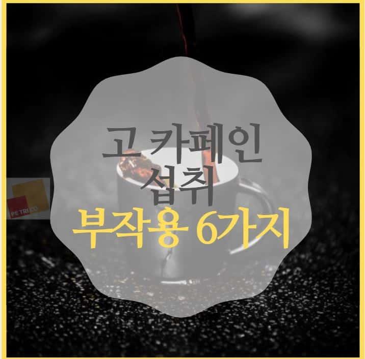 고 카페인 부작용